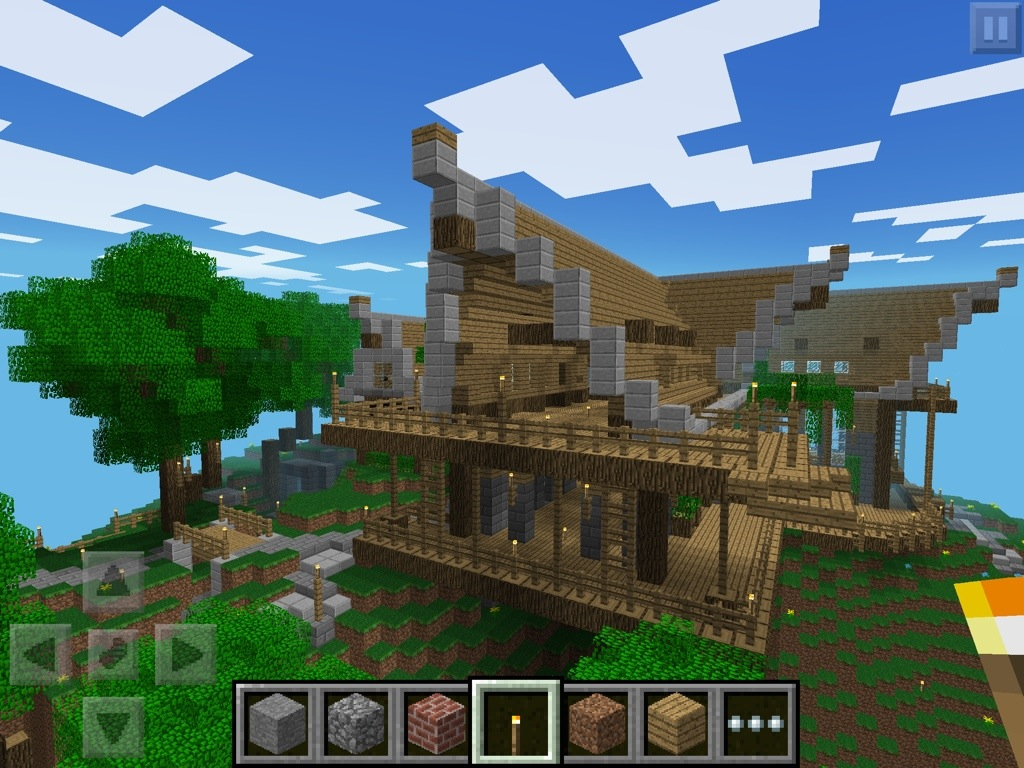 Minecraft pocket edition for pc android and ios inthow for Mine craft pocket addition