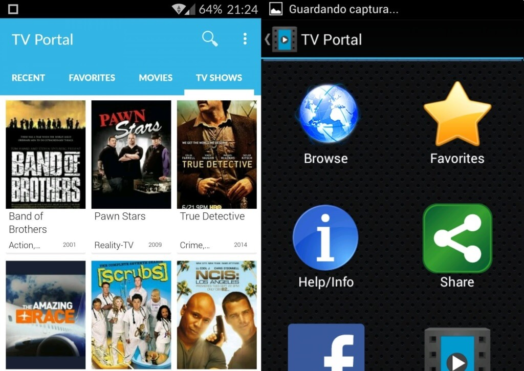 Install TV Portal APP on Android
