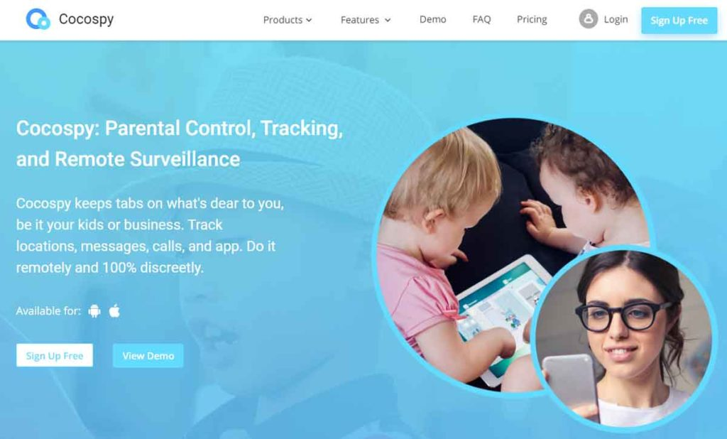 Cocospy – A powerful cell phone tracking app